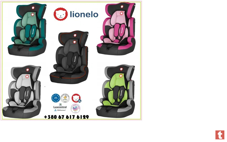 Автокреcло lionelo levi one grey new model 2020 супер цена! Германия