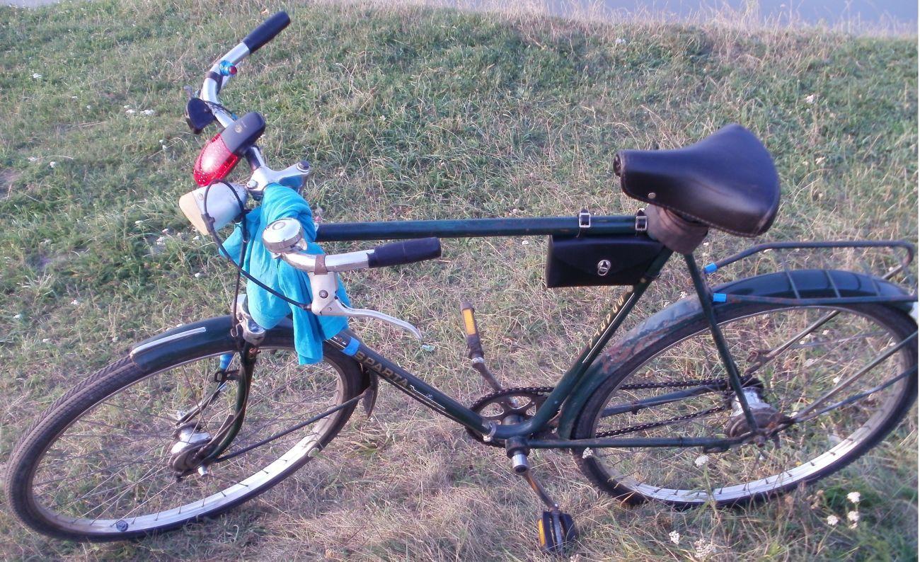 Велосипед на планетарке спарта (не узкие колеса!!)