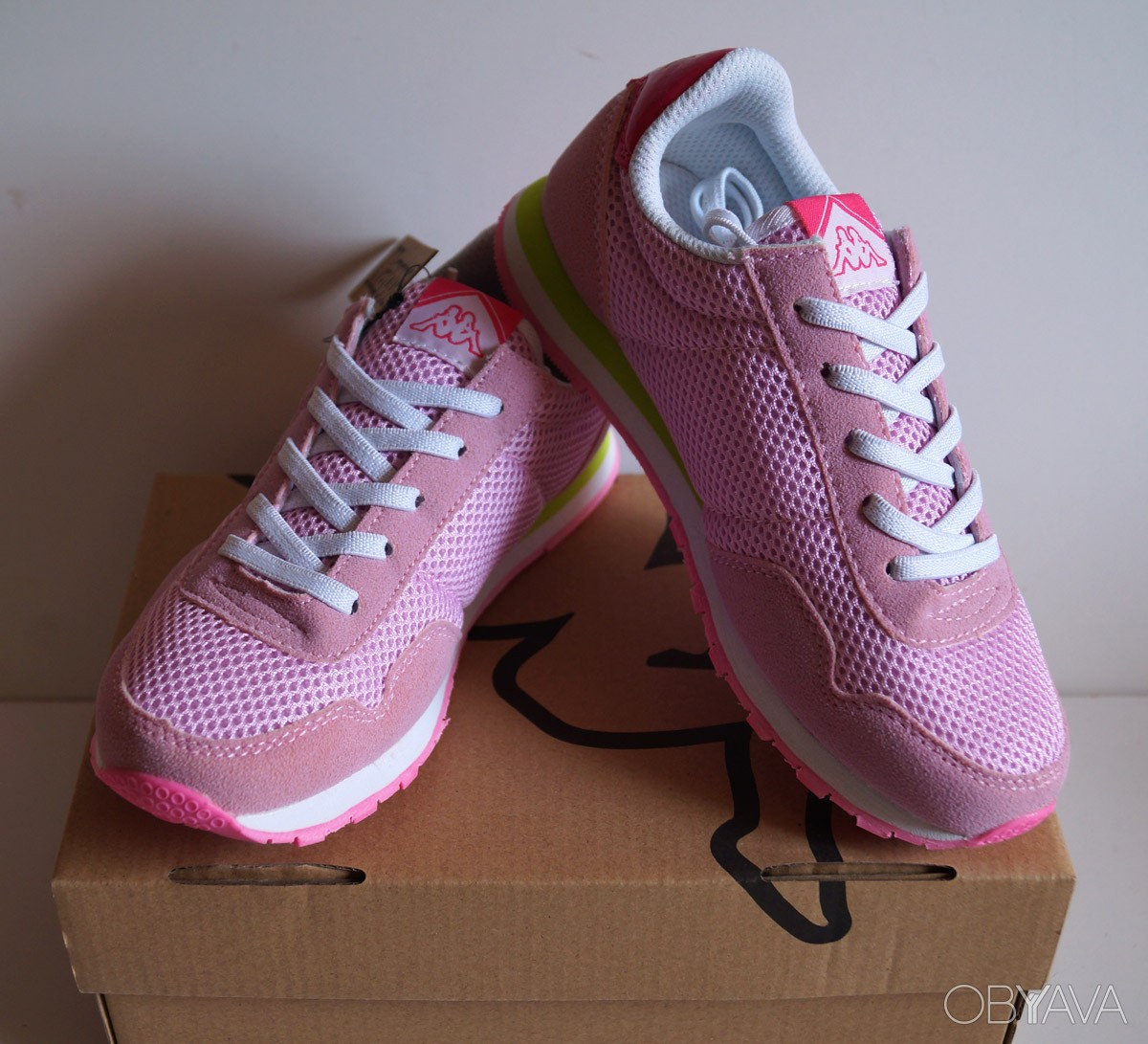 Детские кроссовки Kappa - розовые1