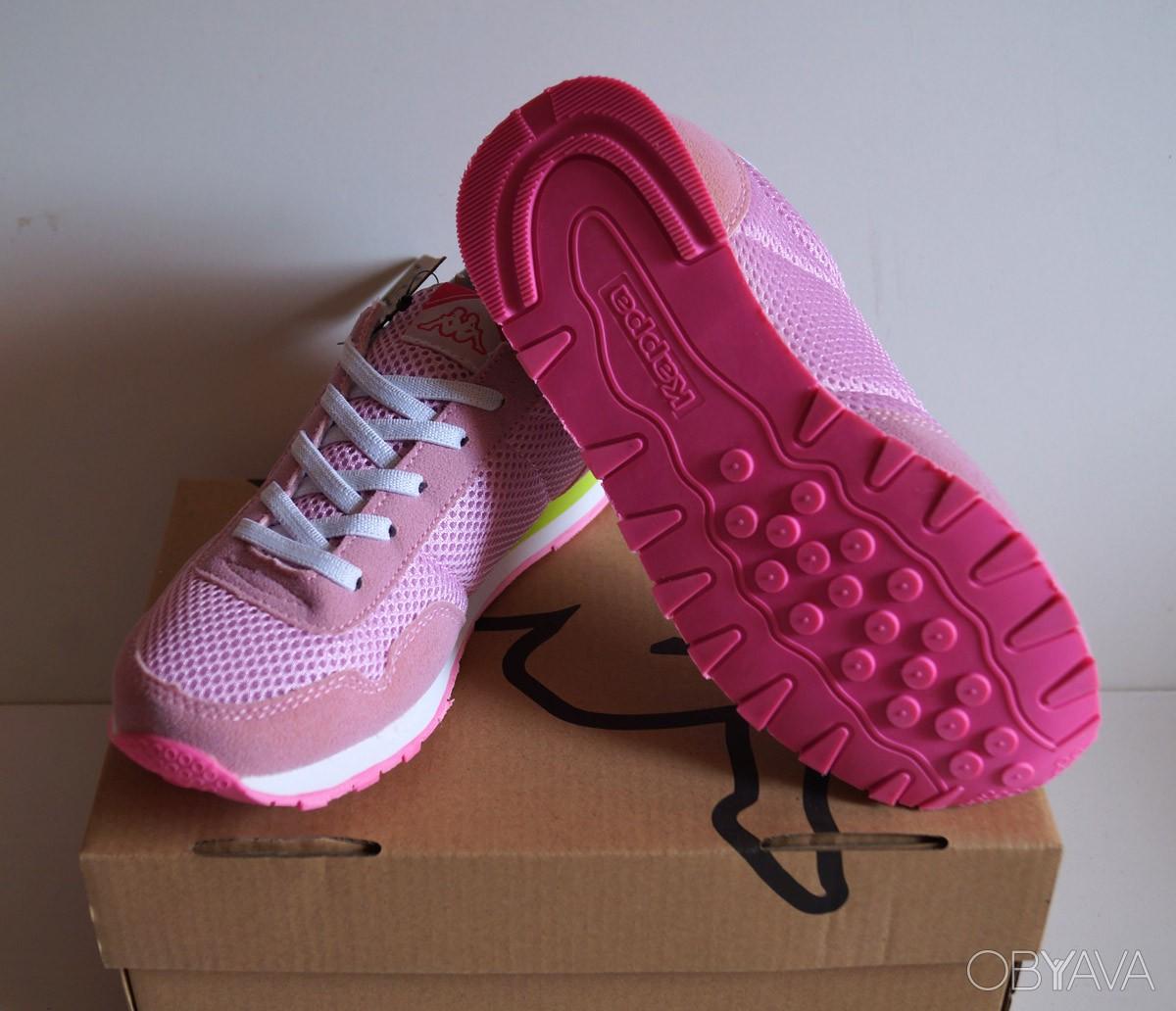 Детские кроссовки Kappa - розовые2