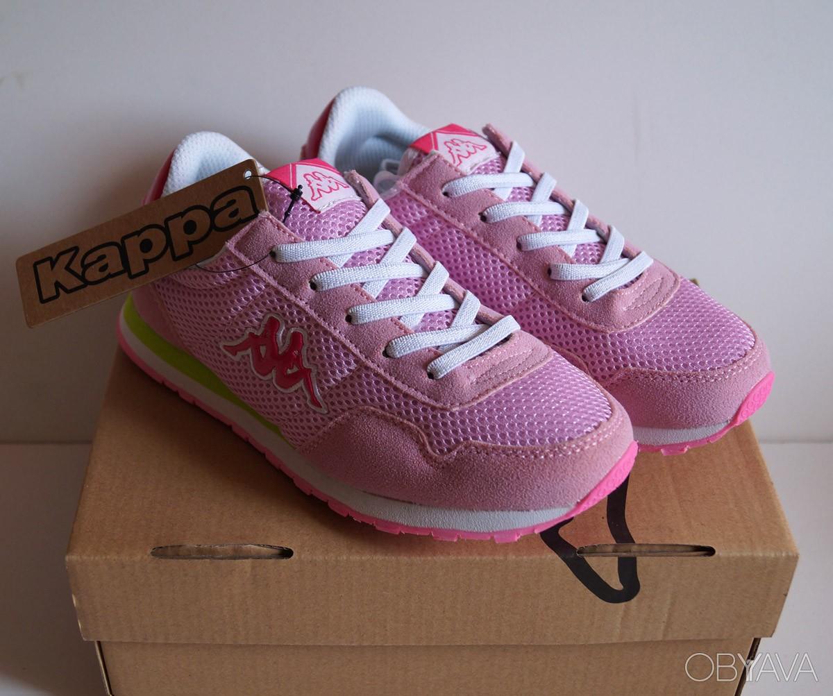 Детские кроссовки Kappa - розовые3