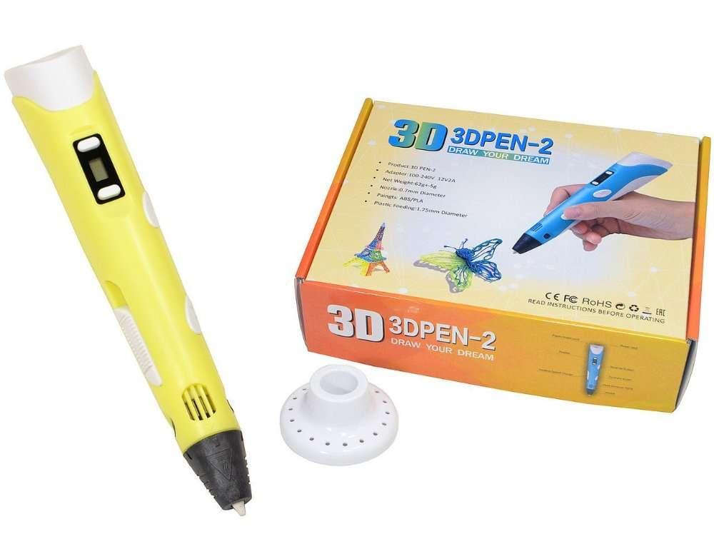 3D ручка c LCD дисплеем Pen 2 3Д принтер для рисования3