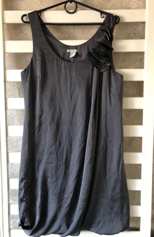 Нарядное платье цвета графит