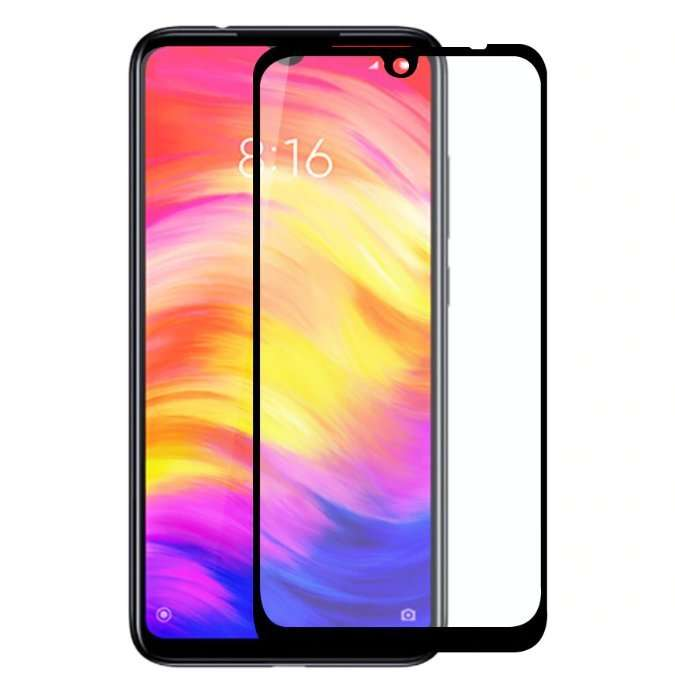 Защитное стекло Zifriend 5D (full glue) для Xiaomi Redmi Note 7 / Note