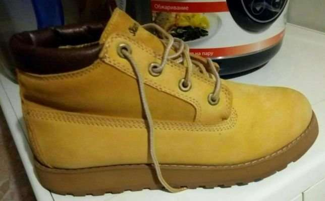 Ботинки Skechers натуральная замша +кожа
