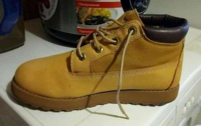 Ботинки Skechers натуральная замша +кожа1