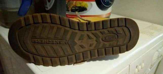 Ботинки Skechers натуральная замша +кожа2