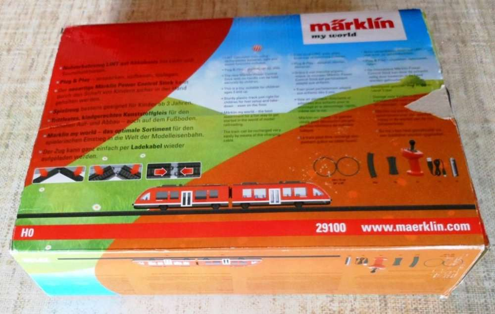 Железная дорога с пультом управления Marklin 36100 (Germany)