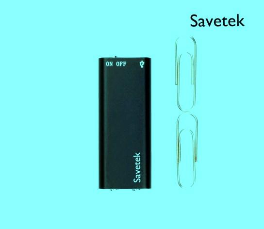 Диктофон мини с активацией на звук Savetek