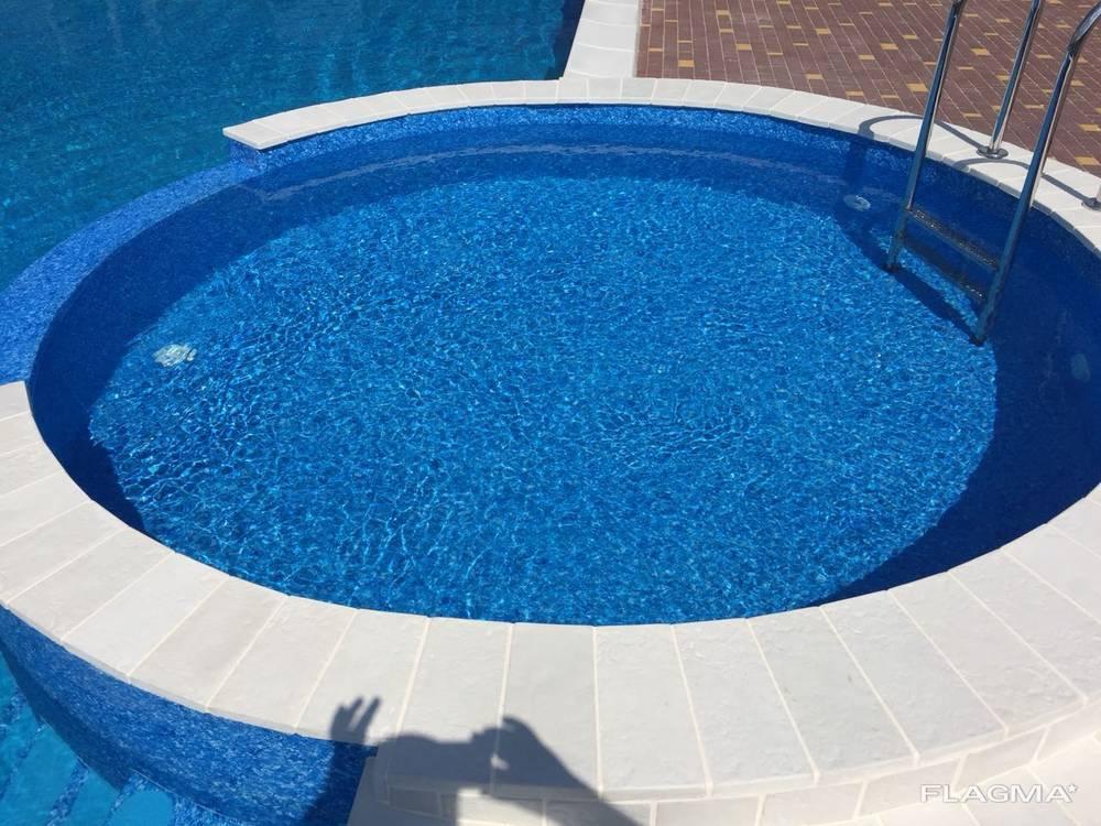Копинговый камень для борта бассейна