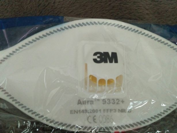Продам многоразовый противовирусный респиратор 3М AURA 9332+(FFP3)