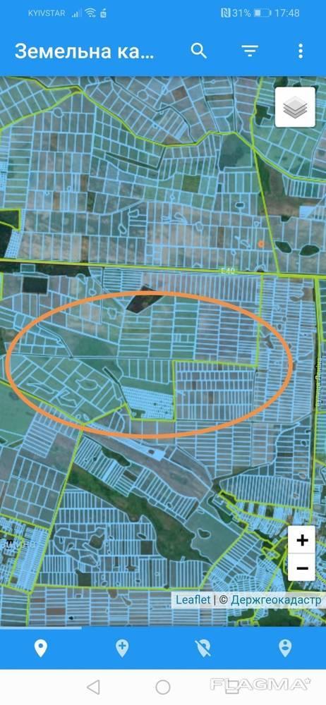 Продажа 70 га земли в Бориспольском районе