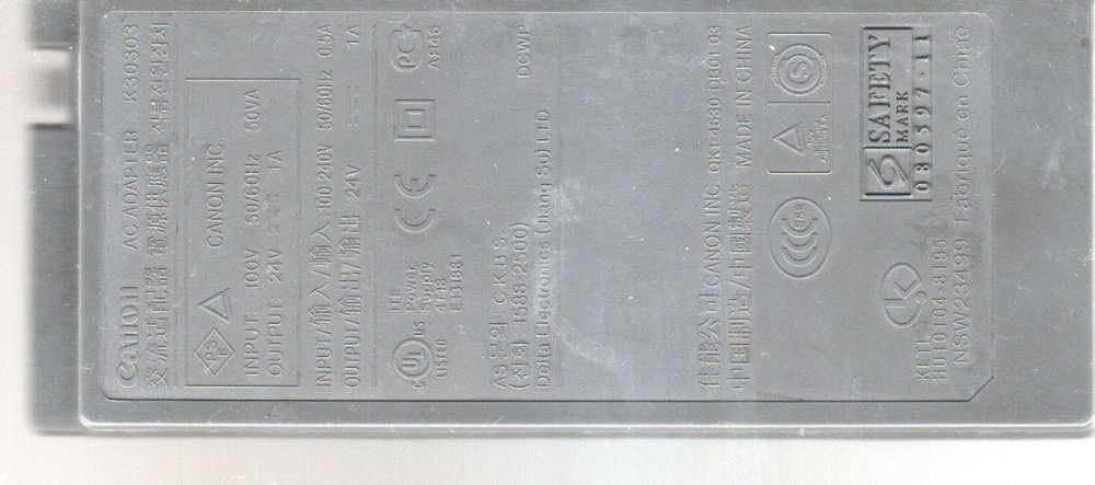 Блок питания (адаптер) Canon 30303 для принтера (МФА)