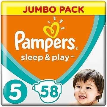 Подгузники Pampers sleep &play 5 58шт