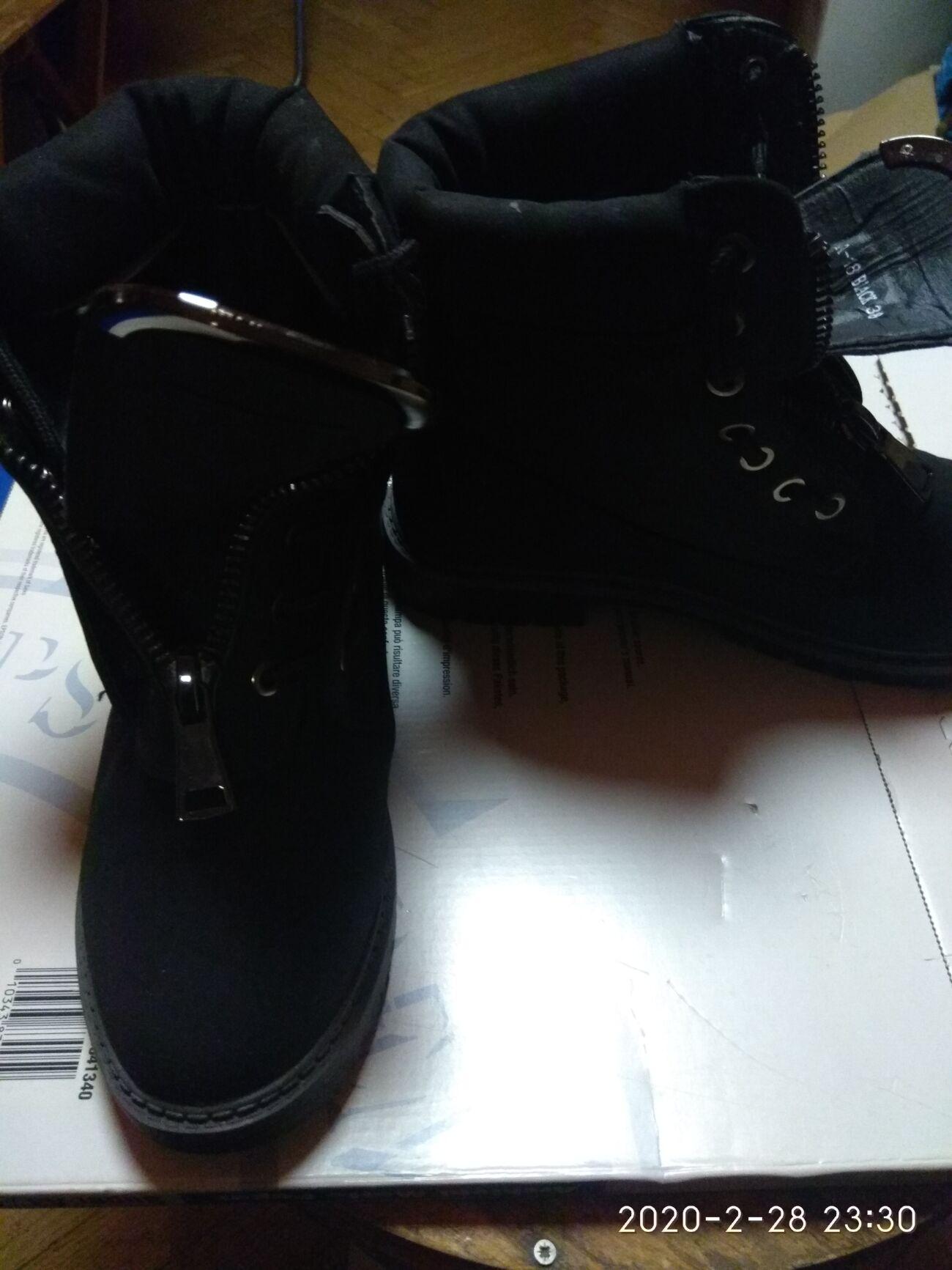 Ботинки замшевые1