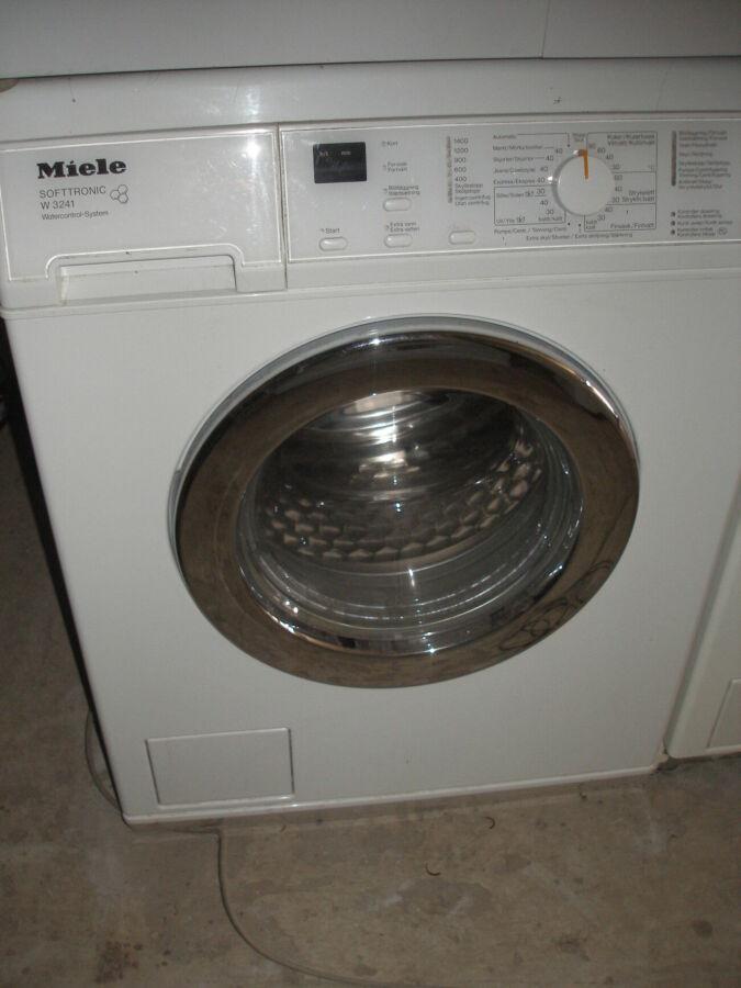 Б/у стиральная машина Miele (1400 оборотов)1