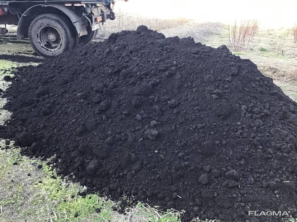 Чернозем под газон, чернозем плодородний под огород