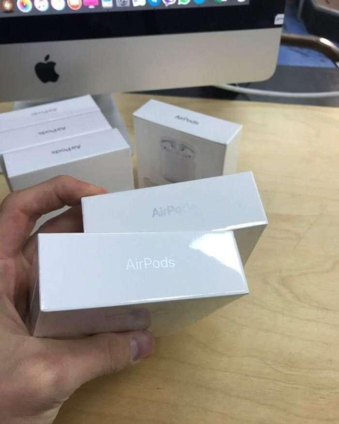 AirPods 2(Original) новые, гарантия, наложенный платеж1