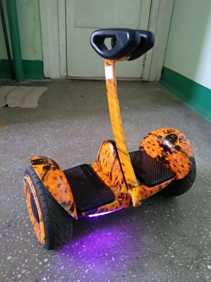 Гироскутер Like.Bike mini plus (wild fire)1
