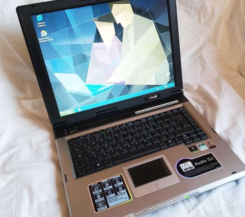Ноутбук, портативный компьютер, laptop ASUS A6M