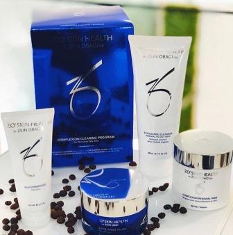 Набор для ухода за кожей с акне Zein Obagi Zo Skin Health Complexion Clearing Program