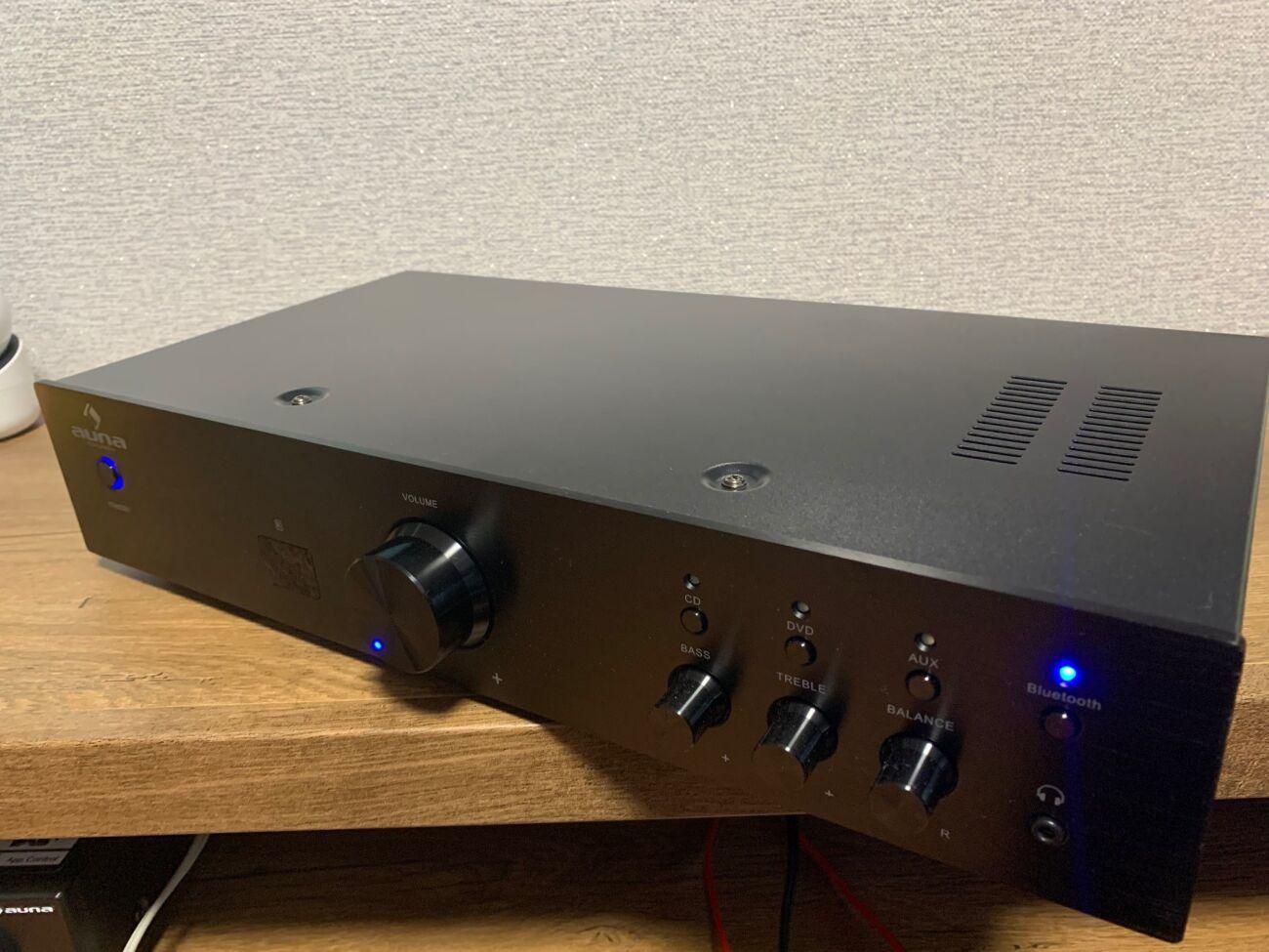 Стерео усилитель HiFi Auna AV2 CD508BT c Bluetooth (Германия) + пульт