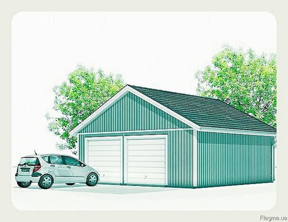 Изготовление металлических гаражей. Сборно-разборной гараж