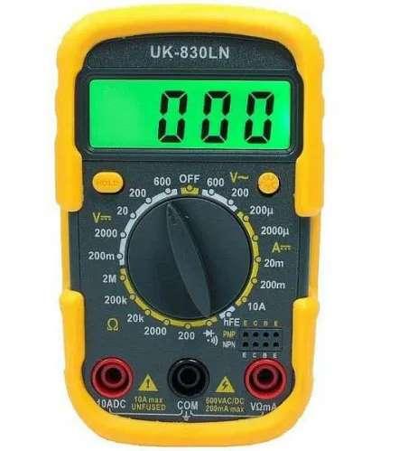 Мультиметр UK-830LN - c подсветкой дисплея!