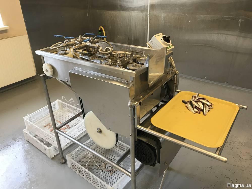 Филетировочная машина для мелкой рыбы1