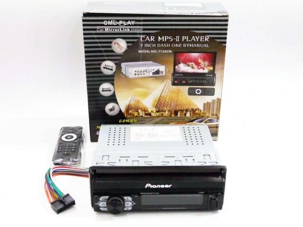 "1din Магнитола Pioneer 7120CM - 7"" Экран + USB + Bluetooth1"