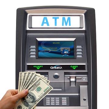 Копии кредитных карт для вывода денег через АТМ.