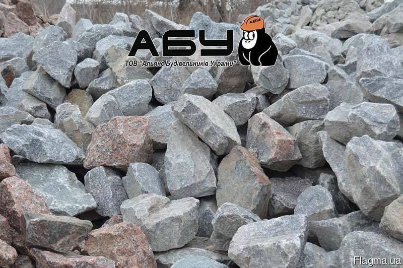 Камень бутовый 150-300 мм, доставка (Киев, область)