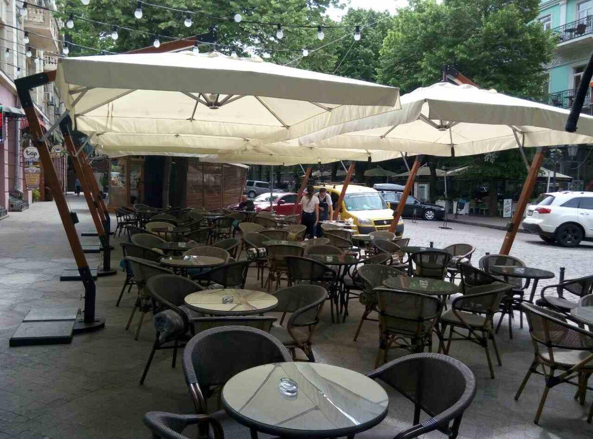 Зонты консольные с куполом 3х3 и 3х4м