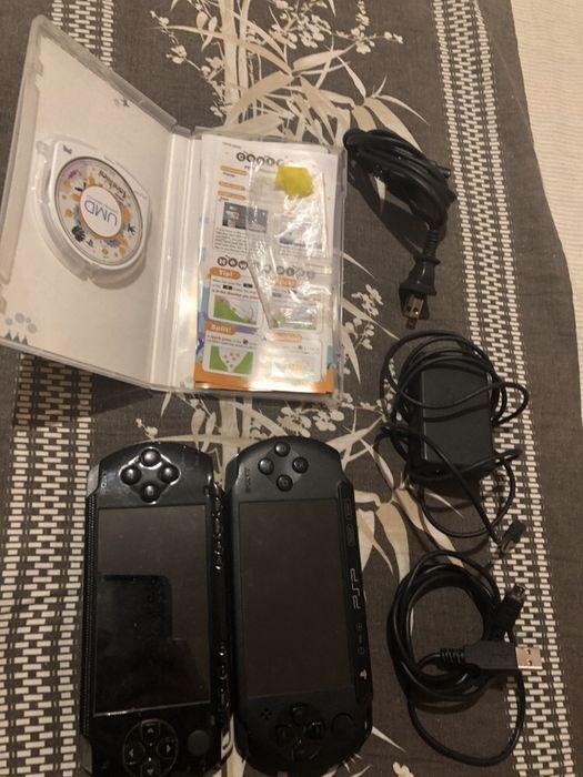 PSP 1001 + PSP E1004 комбо-вариант игровые консоли