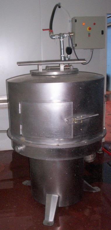 Центрифуга для очистки желудков свиней и КРС - TRIANTAFYLLIDIS (Греция)