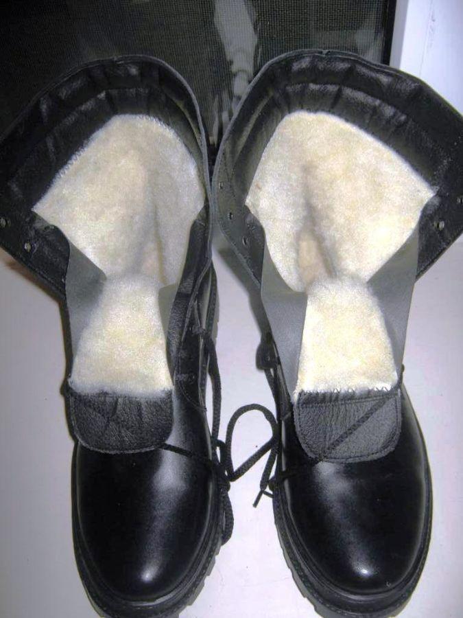 Ботинки высокие 100% кожа на меху по оптовой цене.1