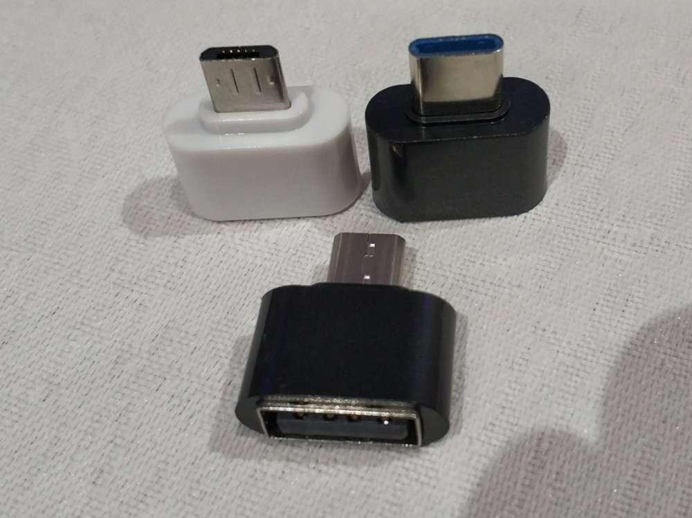 Переходник,перехідник microUsb-Type-C, OTG microUSB - USB,type-C-USB