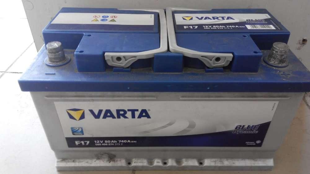 Акумулятор Varta- 80АН б\у Луцьк