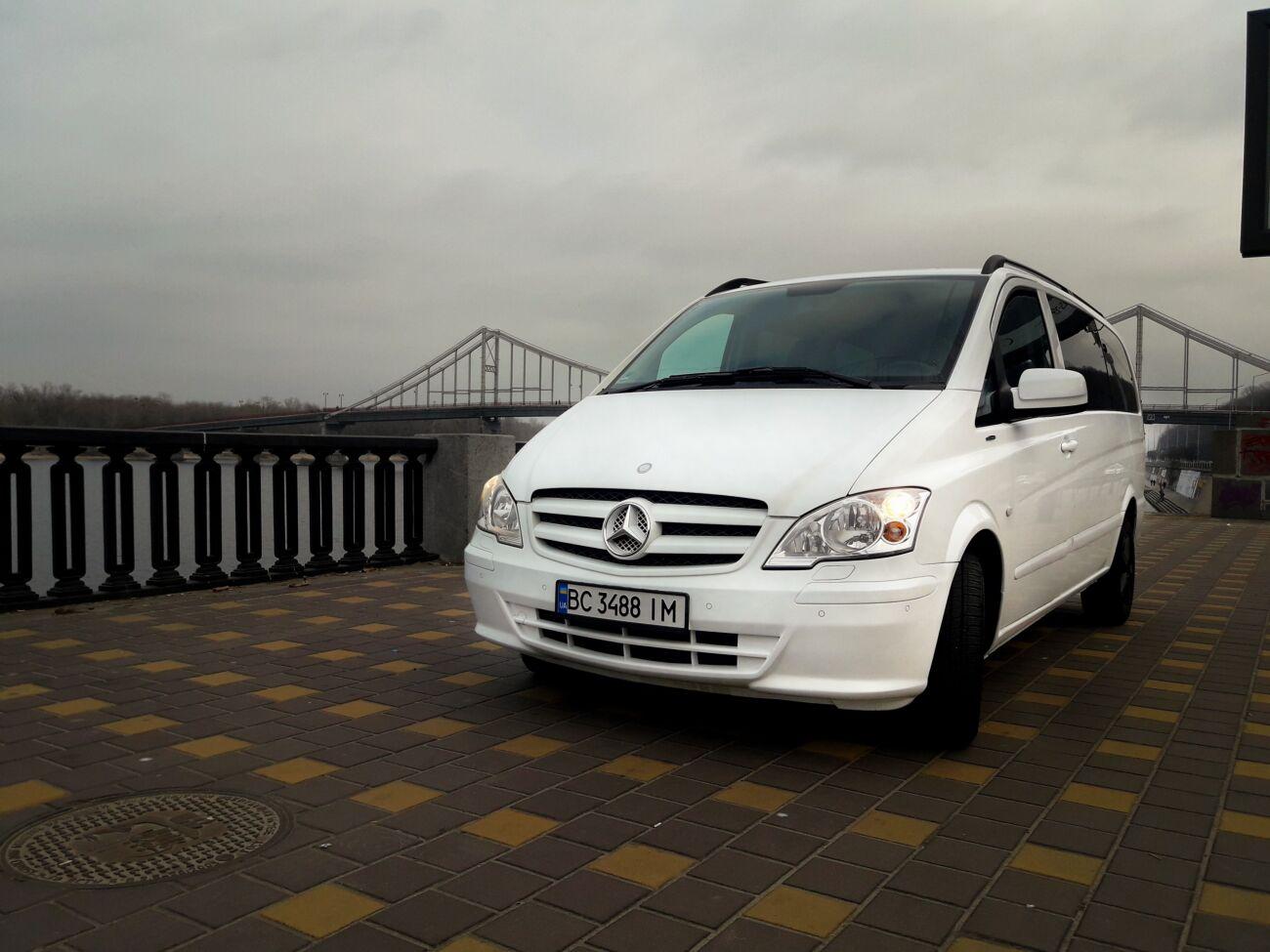 Пасажирські перевезення по Україні та закордон Mercedes Benz Vito