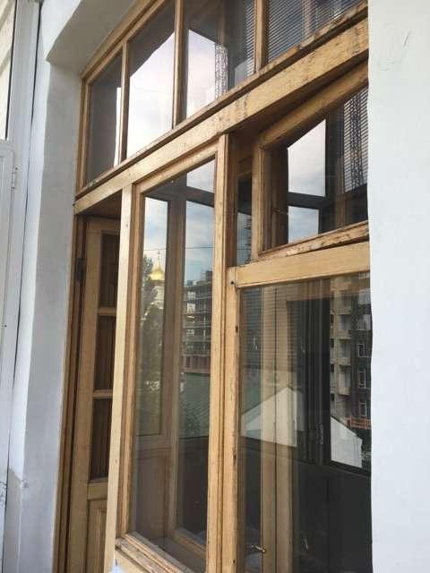 Дубовые рамы и окна