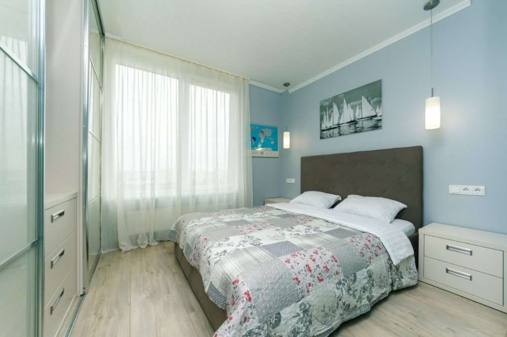Посуточно 2к квартира, Оболонь, новый дом, Богатырская, документы