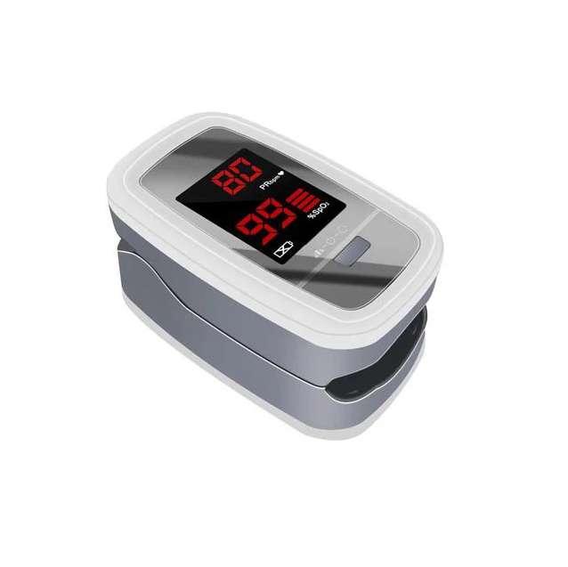 Пульсоксиметр Contec CMS50DL на палец для измерения пульса и сатурации