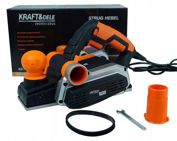 Рубанок ручной електрический KRAFT and DELE гарантия 12 месяцев