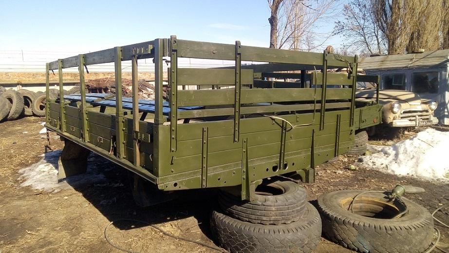 Кузов ЗИЛ-131 конверсия, с откидными скамейками