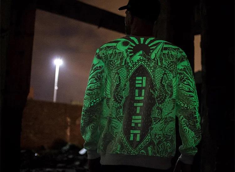Светящаяся краска Нокстон для трафаретной печати на ткани