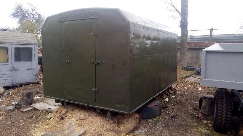 Кунг демонтируемый с автомобиля ГАЗ-66