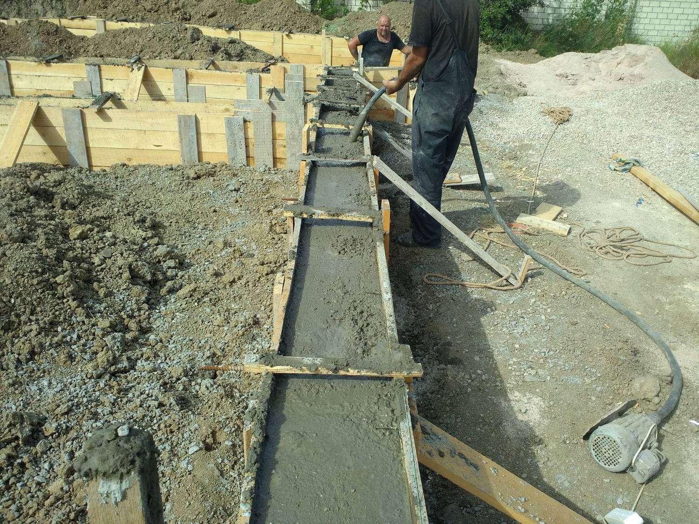 Предоставляем услуги строительные по заливке фундамента .