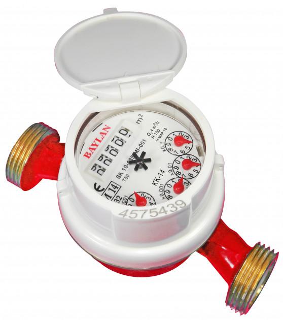Счетчик для горячей воды Baylan КК-14S (ГВ) Dn20 R100