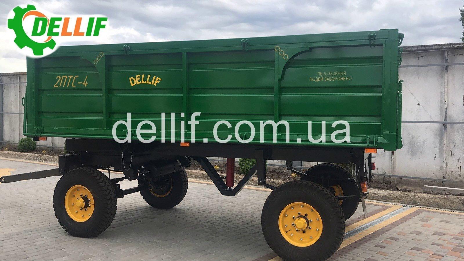 Тракторный прицеп 2 ПТС-4 - Деллиф