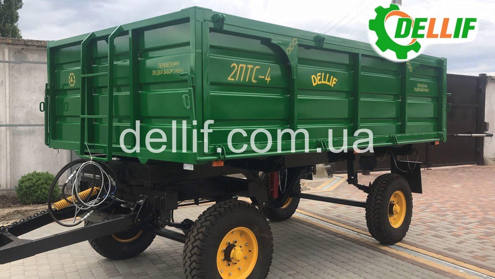 Прицеп тракторный 2 ПТС-4 Деллиф